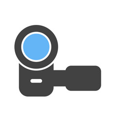 Hand camera i vector
