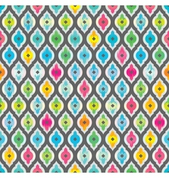 Abstract seamless background Fabric pattern vector image vector image