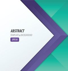 Background overlap dimension modern 2 color style vector