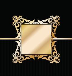 decorative stylish background 2604 vector image