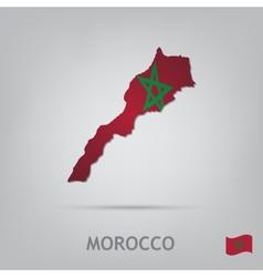 morocco vector image vector image