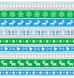 Seamless Christmas background20 vector image
