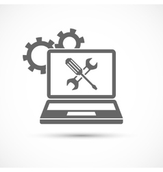 Computing Service Icon vector image