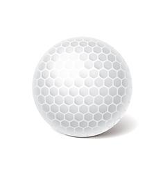 Object golf ball vector