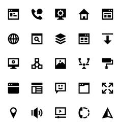 Web Design and Development-1 vector image vector image