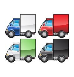 Small truck vector