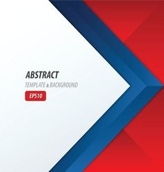 Background overlap dimension modern red blue color vector