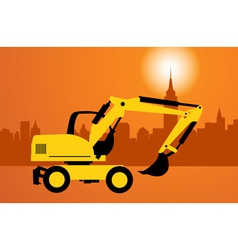 Digger construction vector