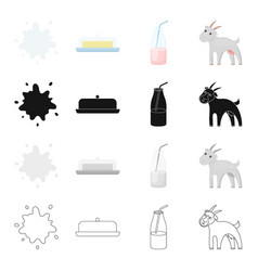 farm industry food and other web icon in cartoon vector image vector image