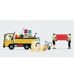 Moving Services vector image vector image