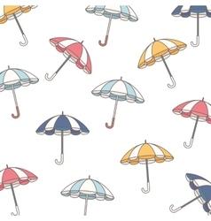 background parasol umbrella icon vector image