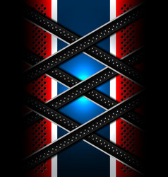 red blue metal lines backgrounds vector image