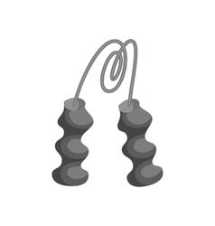 Hand expander icon black monochrome style vector image