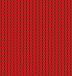 Red seamless background abstract geometric vector image vector image