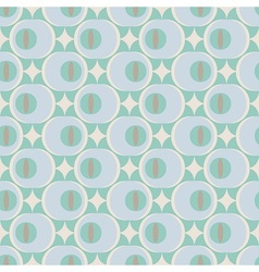 60s inspired pattern vector image vector image