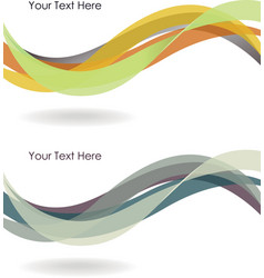Abstract winding background vector