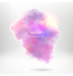 Creative cloude smoke for your design vector