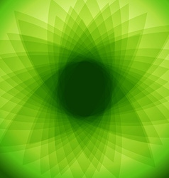 Green abstract background EPS 10 vector image