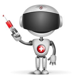 Robot doctor vector