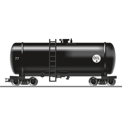 Oil tank vector image