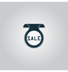Bookmark with sale message vector