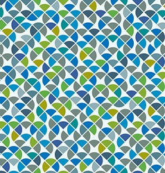 Abstract mosaic retro seamless pattern vector image vector image