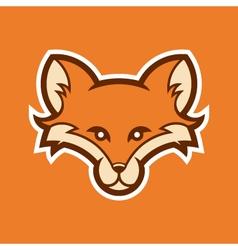 Fox head logo vector