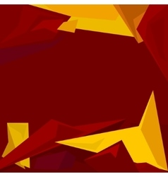 Polygonal Geometric Abstract Background vector image vector image