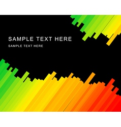 rainbow stripes vector image vector image