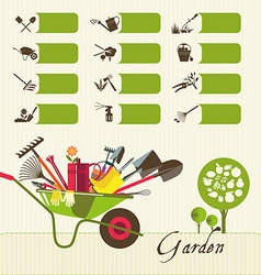 Icons on the theme of organic farming symbols vector
