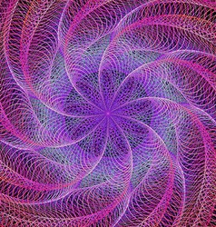 Purple abstract colorful fractal background vector