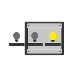 Ideas machine icon vector