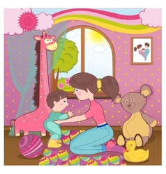 Children room vector