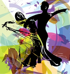 Latino Dancing couple vector image