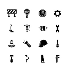 computer icon set vector image