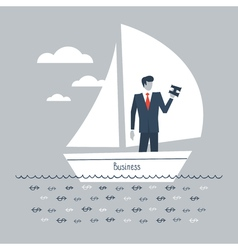 Future business vision vector