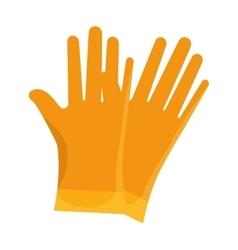 Gloves industrial security equipment vector