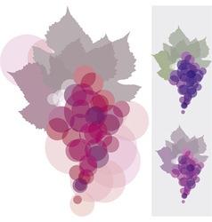Grape background vector