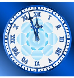 vintage clocks face vector image vector image
