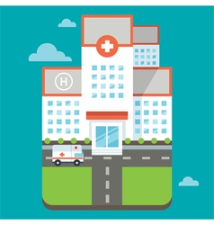 Hospital vector image
