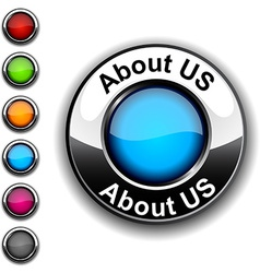 About us button vector