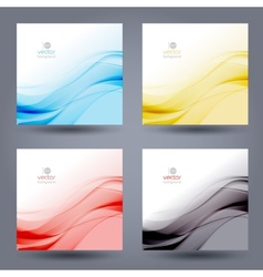 Abstract color template background Brochure design vector image vector image