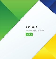 Background dimension modern brazil style vector