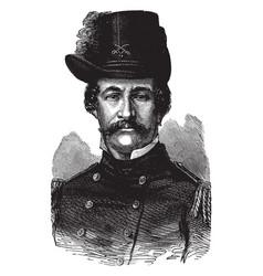 General david hunter vintage vector