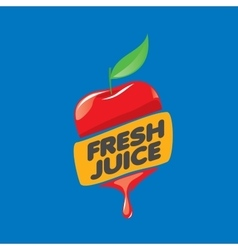 Logo of fresh juice vector