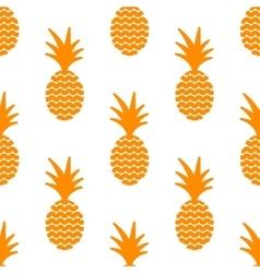 Pineapple simple vetor seamless background vector