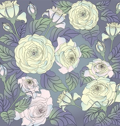 Roses78blue vector