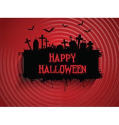 halloween background 2509 vector image