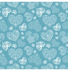 Bright openwork seamless pattern vector image vector image