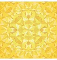 Golden Triangles Foil Texture Seamless vector image